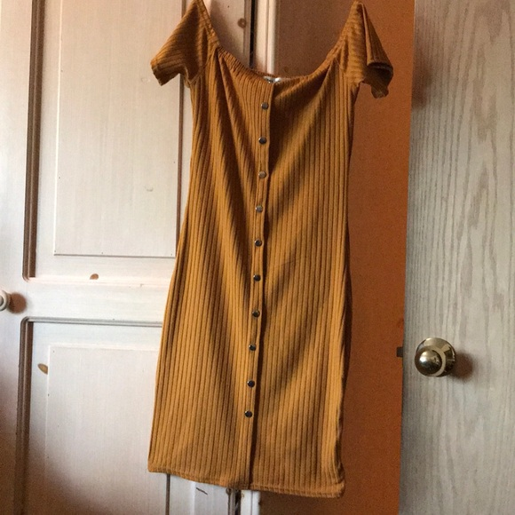 Say What? Dresses & Skirts - Orange color dress, Brand new